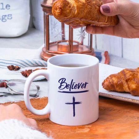 Cana cu mesaj crestin - Believer [4]