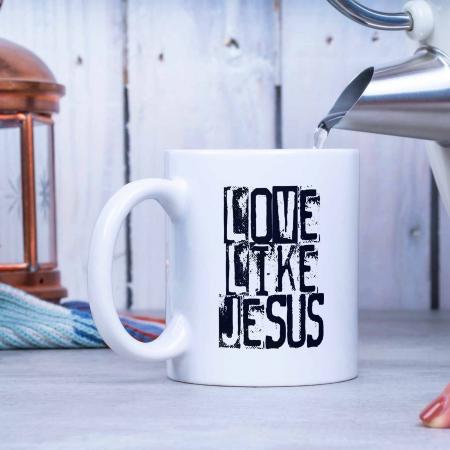 Cana cu mesaj crestin Live Like Jesus [1]