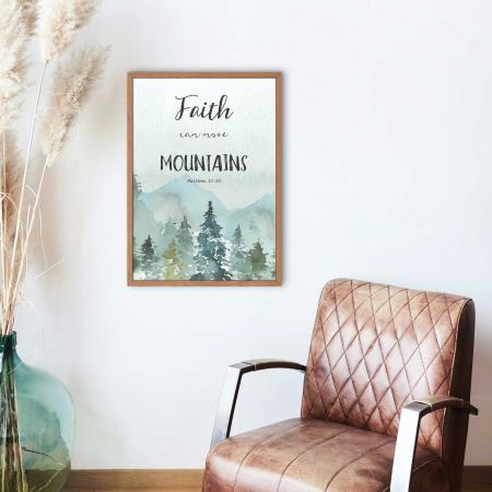 Tablou Faith can move mountains [1]