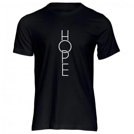 Tricou cu mesaj creștin Hope [0]