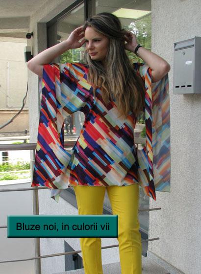 Bluze noi in culori vii