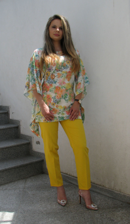 Bluza Bella, flori galbene [0]