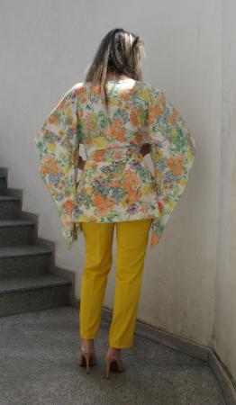 Bluza Bella, flori galbene [3]