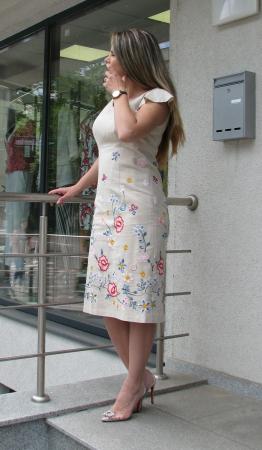 Rochie Iulia, broderie flori [1]