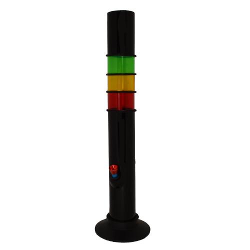 Bong acrylic rasta - 50 cm [0]