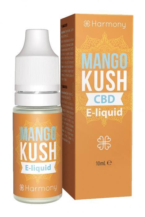 CBD E-liquid - Mango Kush 10ml (Harmony) [0]