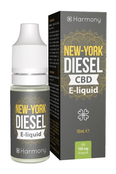 CBD e-liquid - New York Diesel 10ml (Harmony) [0]