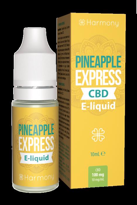 CBD e-liquid - Pineapple Express 10ml (Harmony) [0]