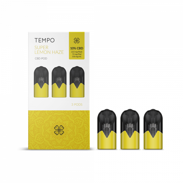 CBD Tempo Cartus - Super Lemon Haze (Harmony) [0]