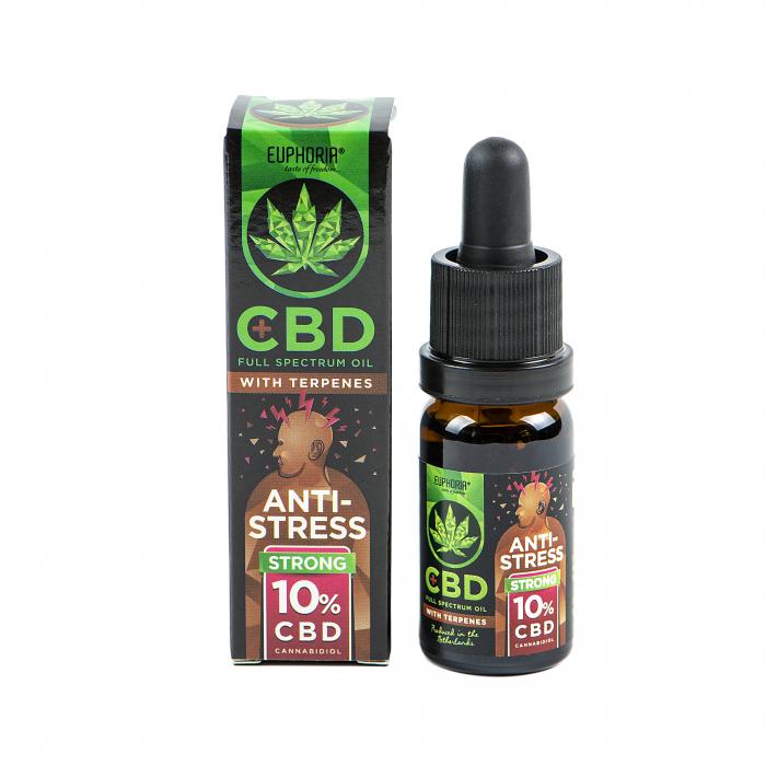 Euphoria CBD 10%,10ml - cu Terpene: Anti Stress [0]