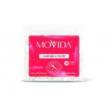 Filtre 6mm - cutie cu 90 pachete (130 bucati) Movida [0]
