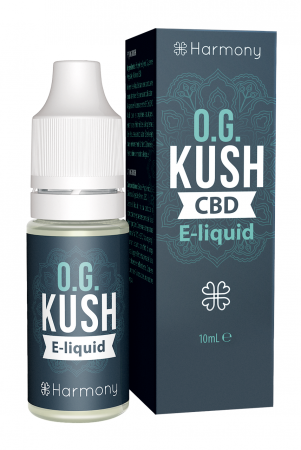 CBD E-liquid - OG Kush 10ml (Harmony) [0]