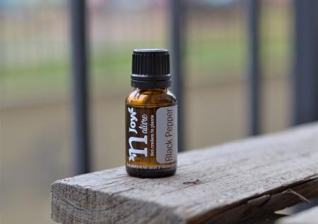 Ulei Esential Piper Negru, Black Pepper 15ml [2]
