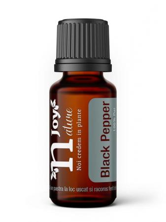 Ulei Esential Piper Negru, Black Pepper 15ml [0]