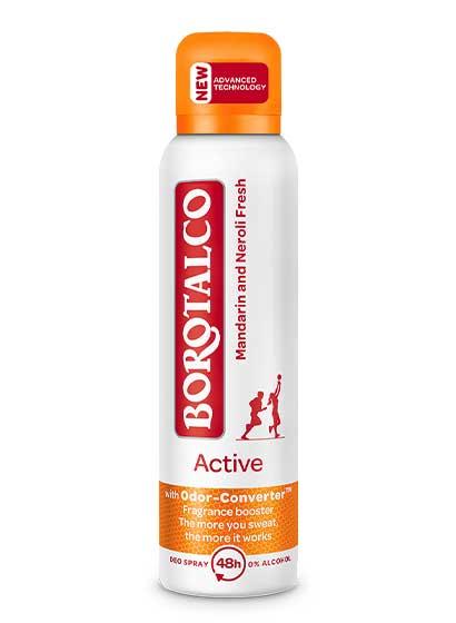 Deodorant Spray Borotalco Active Mandarin & Neroli