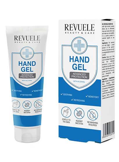 Hand Gel Advanced, Revuele