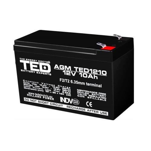 Acumulator 12V 10Ah jucarii electrice [0]