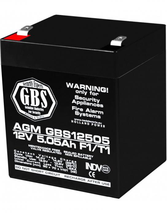Acumulator 12V 5Ah jucarii electrice [0]