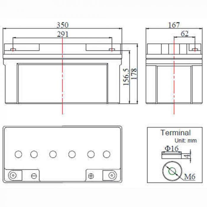 Acumulator Deep Cycle FCD 12V 70Ah [0]