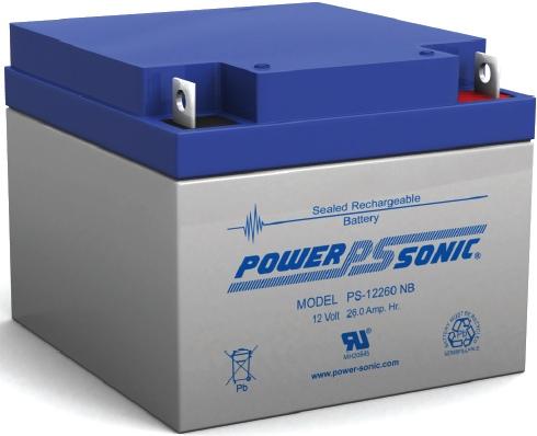 Acumulator PowerSonic 12V 26A (PS-12260) [0]