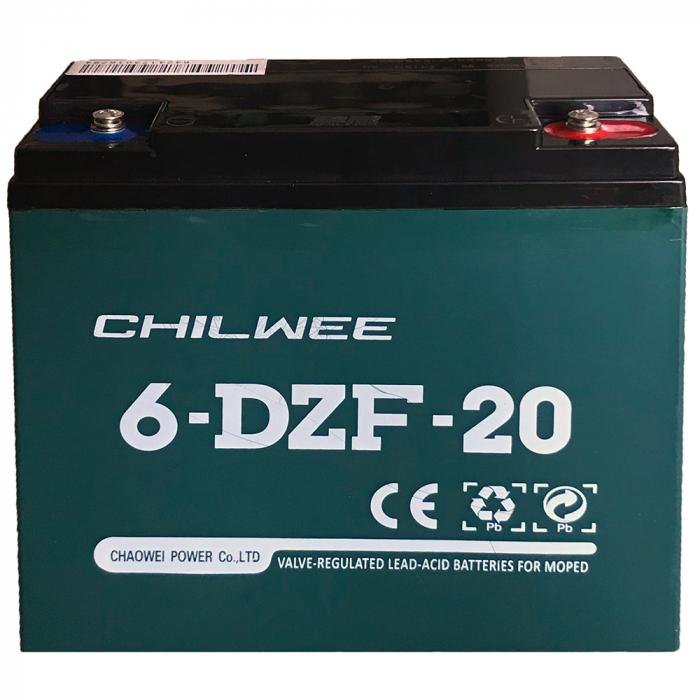 Acumulator vehicule electrice 6-DZF-20 (12V 20Ah) [0]