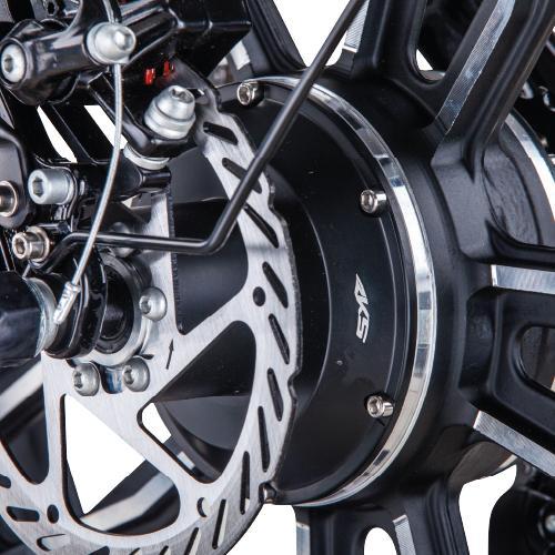 Bicicleta electrica TNT-15 (Fat Tire Pliabila) [4]
