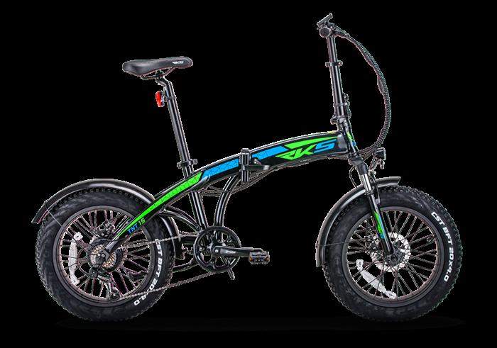 Bicicleta electrica TNT-15 (Fat Tire Pliabila) [0]