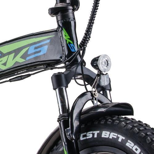 Bicicleta electrica TNT-15 (Fat Tire Pliabila) [3]