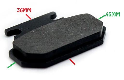 Set placute frana CityCoco (Model 1) [0]