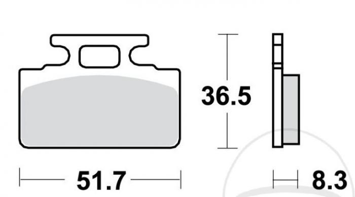 Set placute frana (Zt-63/ZT-28) [0]