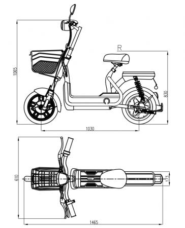 Bicicleta electrica ZT-06 - Model 2020 [5]