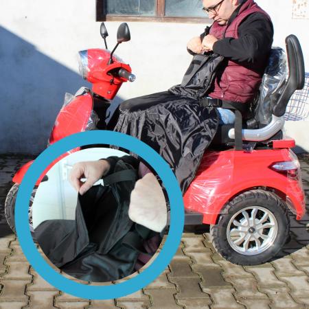 Husa protectie iarna pentru picioare (Scuter/tricicleta) [8]