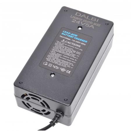Incarcator carucioare electrice 24V 5A (Plumb-Acid) [1]