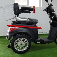 scaun ajustabil tricicleta