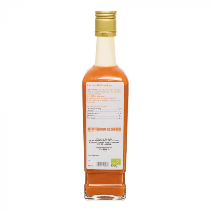 Suc de catina ecologic 500ml - sticla (produs proaspat) [1]