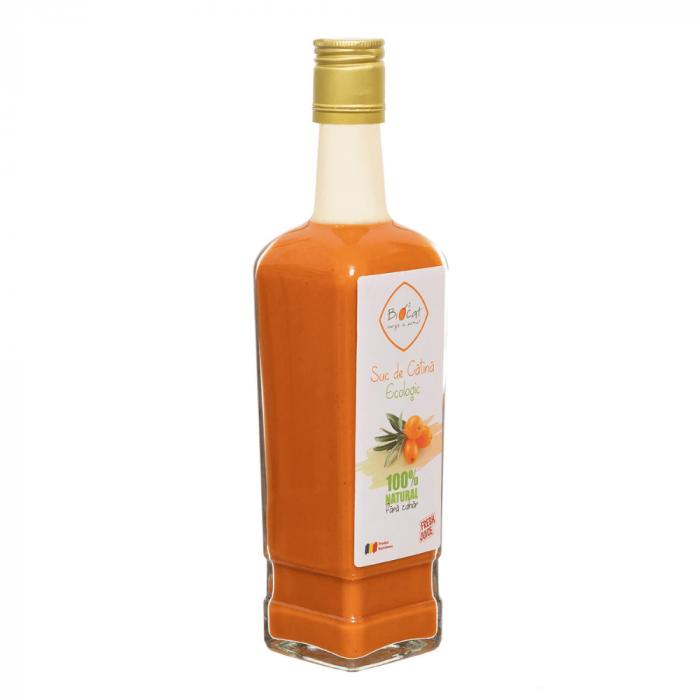 Suc de catina ecologic 500ml - sticla (produs proaspat) [2]