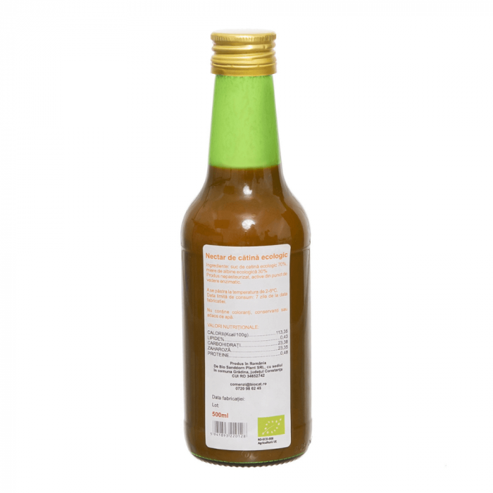 Nectar de catina Ecologic 250 ml - Sticla (produs proaspat) [1]