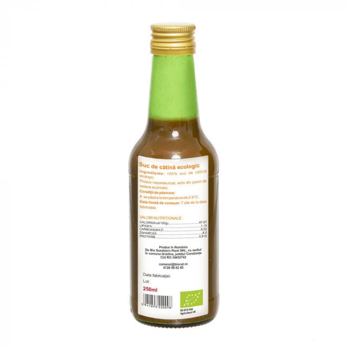 Suc de catina ecologic 250ml - sticla (produs proaspat) [1]