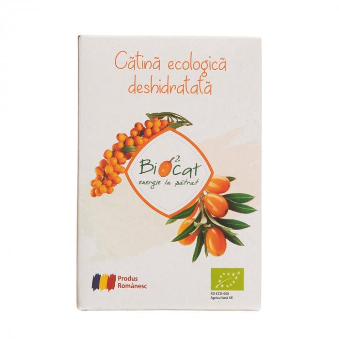 Fructe deshidratate de catina ecologice - produs deshidratat 100g [2]