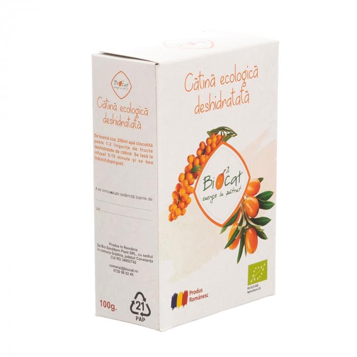 Fructe deshidratate de catina ecologice - produs deshidratat 100g [1]