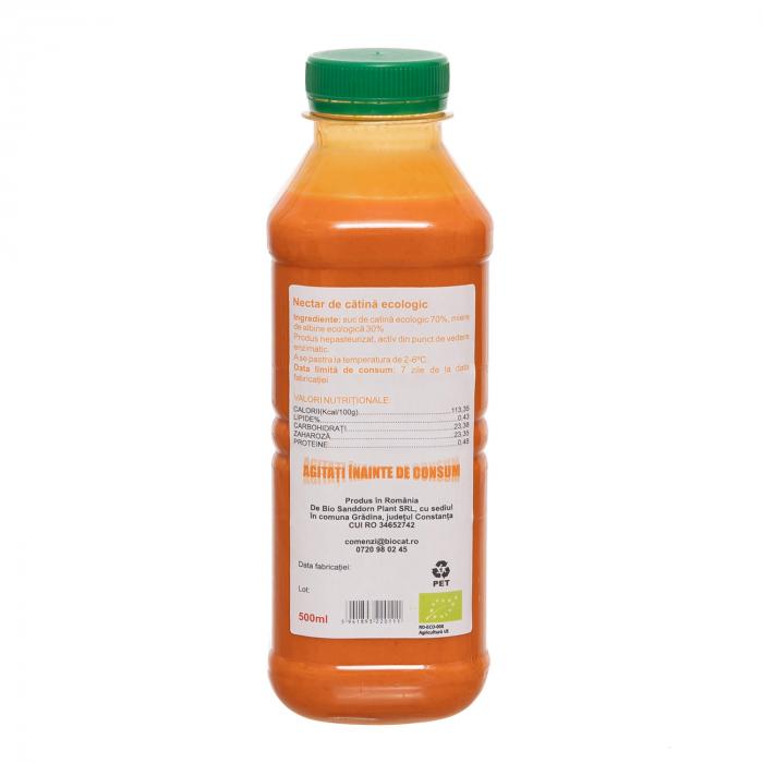 Nectar de catina ecologic 500ml - pet (produs proaspat) [1]
