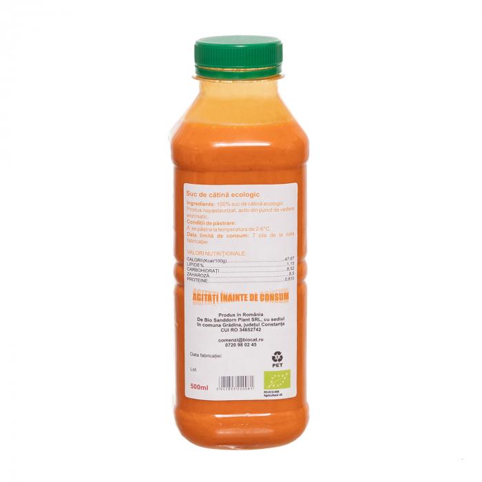 Suc de catina ecologic 500ml - pet (produs proaspat) [1]