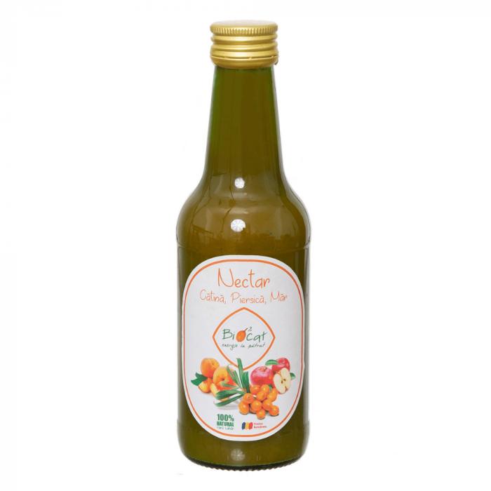 Nectar Catina, Piersica si Mar - produs pasteurizat 250ml [1]