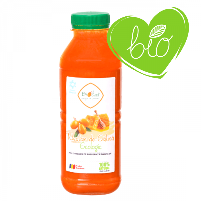 Nectar de catina ecologic 500ml - pet (produs congelat) [0]