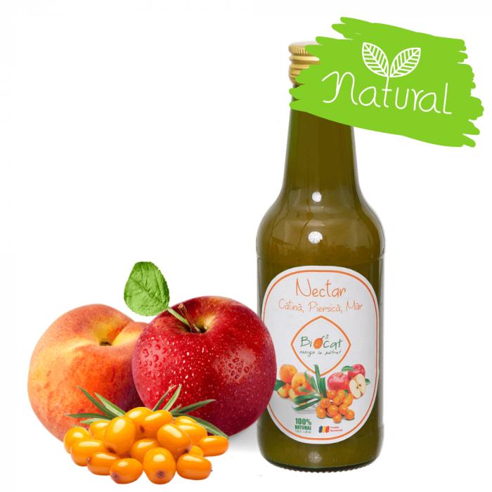 Nectar Catina, Piersica si Mar - produs pasteurizat 250ml [0]