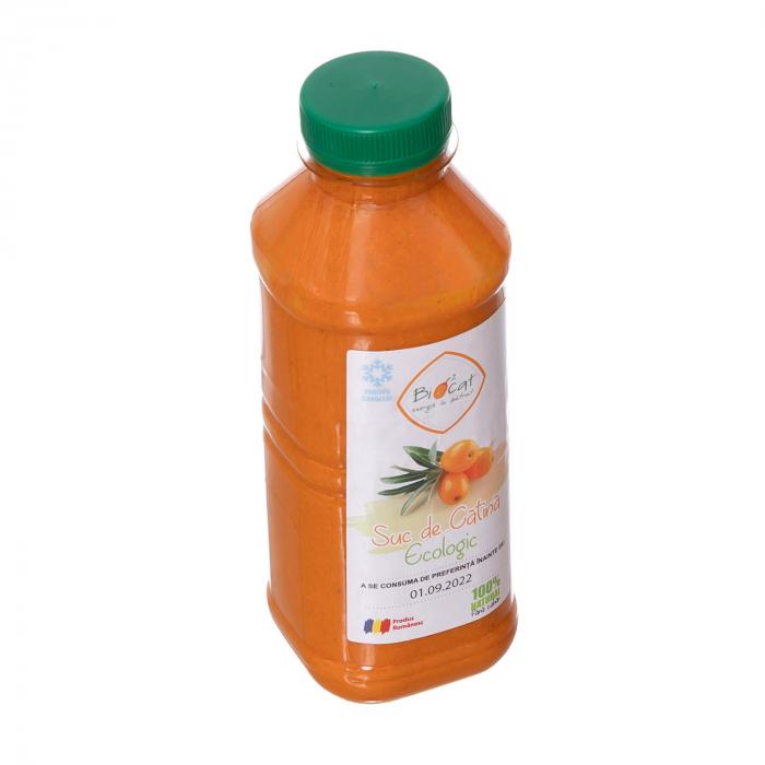 Suc de catina ecologic 500ml - pet (produs congelat) [2]