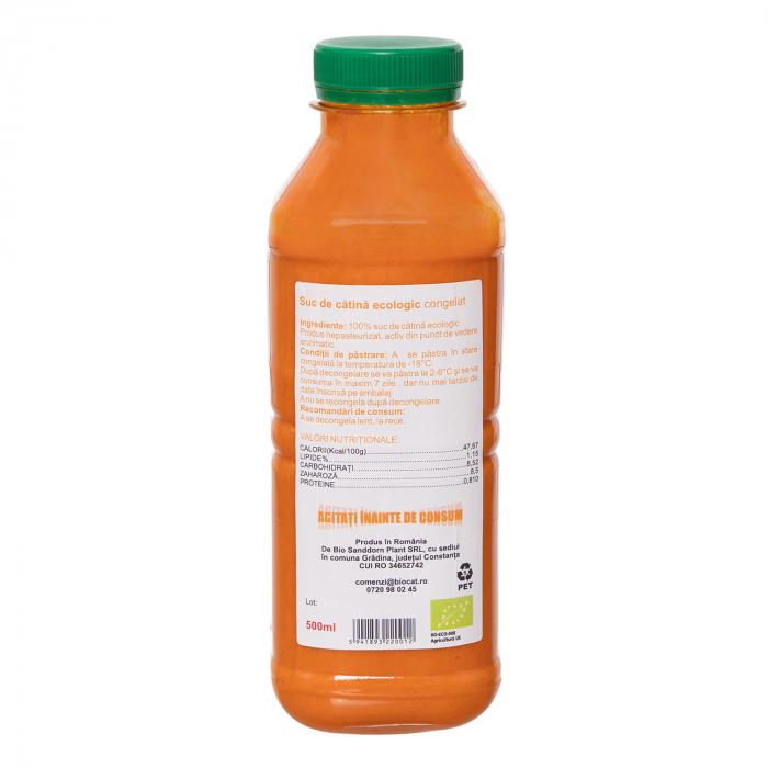 Suc de catina ecologic 500ml - pet (produs congelat) [1]