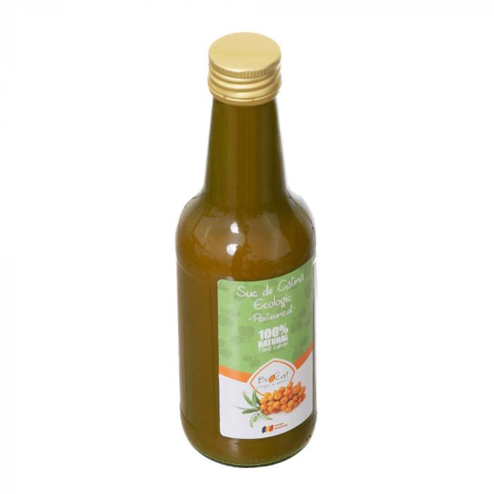 Suc de Catina Ecologic Pasteurizat 250ml - Sticla [1]