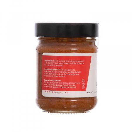 Biocream - cremă tartinabilă din miere, căpsuni și pulbere de cătină,  220 gr [1]