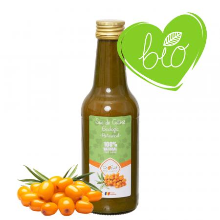 Suc de Catina Ecologic Pasteurizat 250ml - Sticla [0]